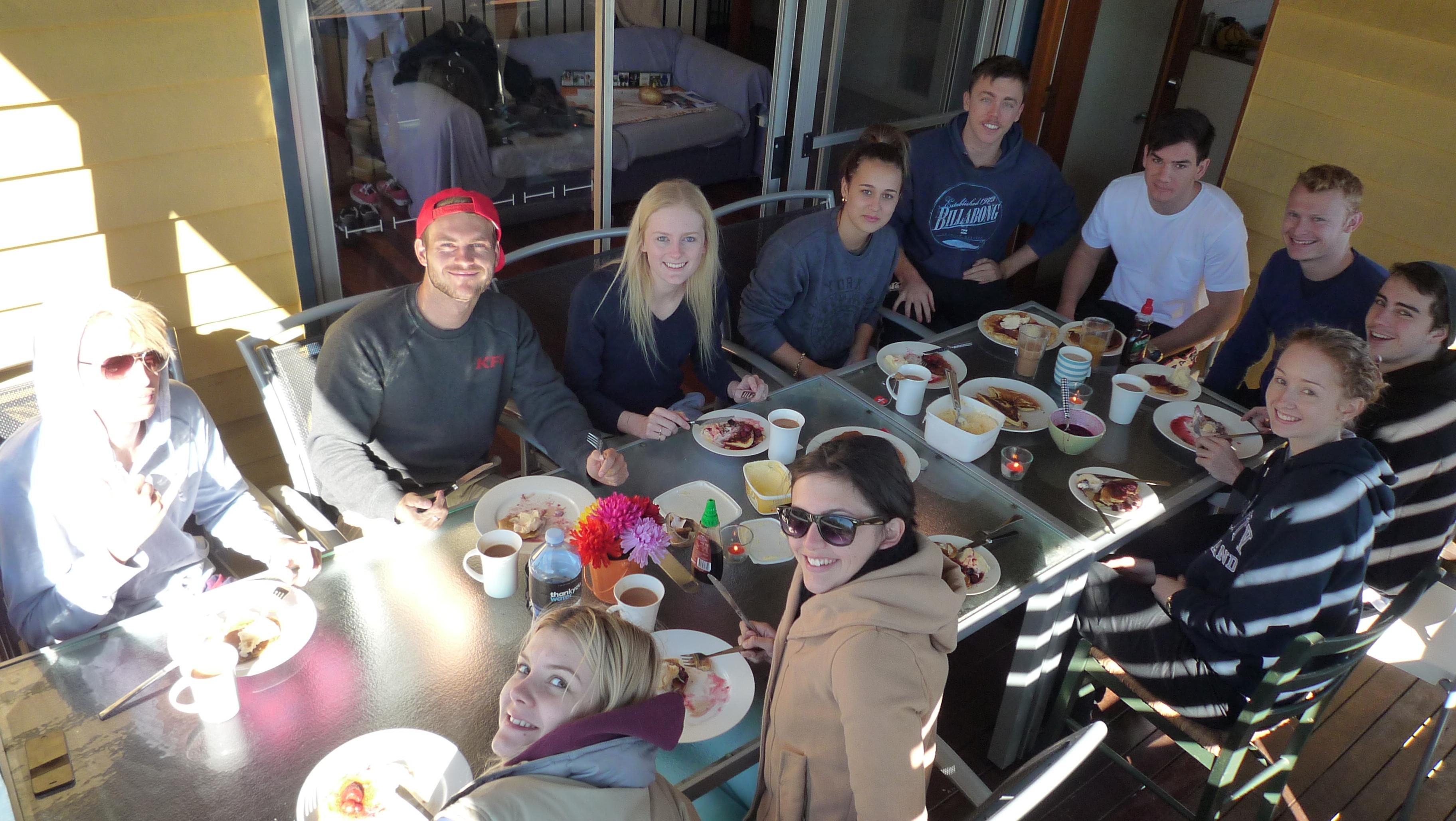 Pancake Sunday at Fifth Ave.